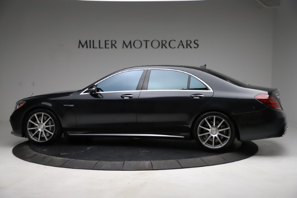 Used 2019 Mercedes-Benz S-Class AMG S 63 for sale $122,900 at Bentley Greenwich in Greenwich CT 06830 5