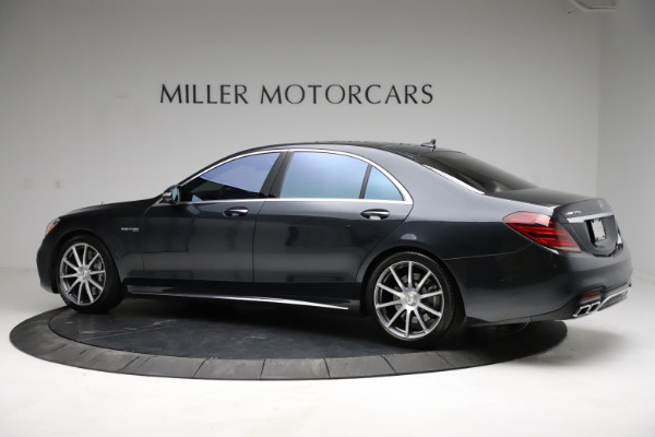 Used 2019 Mercedes-Benz S-Class AMG S 63 for sale $122,900 at Bentley Greenwich in Greenwich CT 06830 6