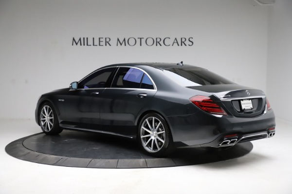 Used 2019 Mercedes-Benz S-Class AMG S 63 for sale $122,900 at Bentley Greenwich in Greenwich CT 06830 7