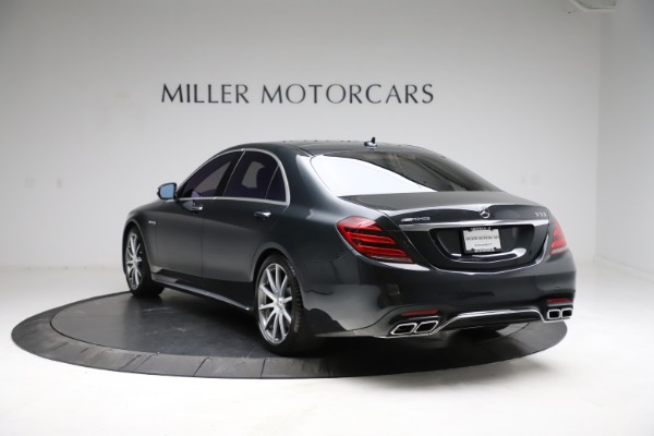 Used 2019 Mercedes-Benz S-Class AMG S 63 for sale $122,900 at Bentley Greenwich in Greenwich CT 06830 8