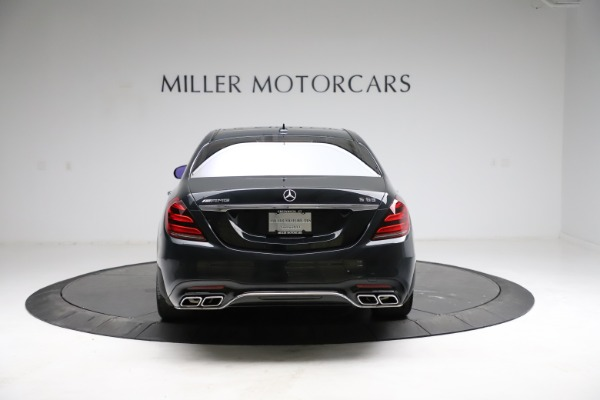 Used 2019 Mercedes-Benz S-Class AMG S 63 for sale $122,900 at Bentley Greenwich in Greenwich CT 06830 9