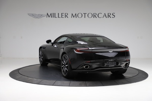 Used 2018 Aston Martin DB11 V12 for sale $159,990 at Bentley Greenwich in Greenwich CT 06830 4