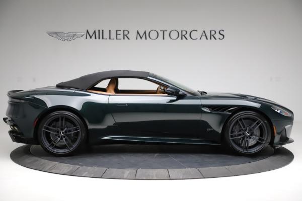New 2021 Aston Martin DBS Superleggera Volante for sale $392,916 at Bentley Greenwich in Greenwich CT 06830 15