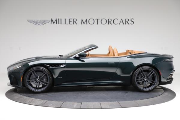 New 2021 Aston Martin DBS Superleggera Volante for sale $392,916 at Bentley Greenwich in Greenwich CT 06830 2