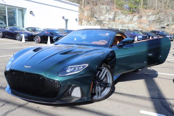 New 2021 Aston Martin DBS Superleggera Volante for sale $392,916 at Bentley Greenwich in Greenwich CT 06830 26