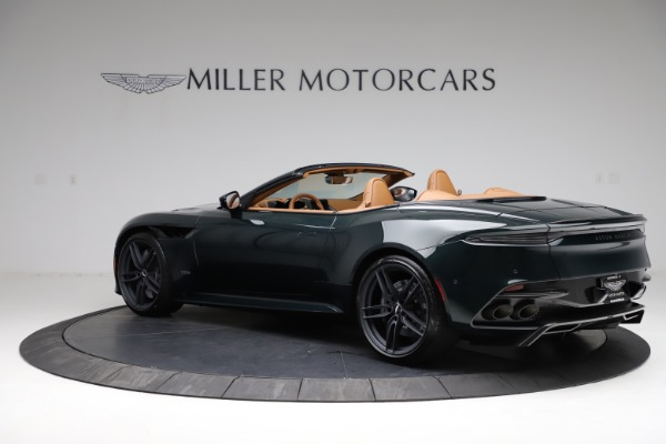 New 2021 Aston Martin DBS Superleggera Volante for sale $392,916 at Bentley Greenwich in Greenwich CT 06830 3