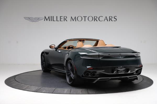 New 2021 Aston Martin DBS Superleggera Volante for sale $392,916 at Bentley Greenwich in Greenwich CT 06830 4