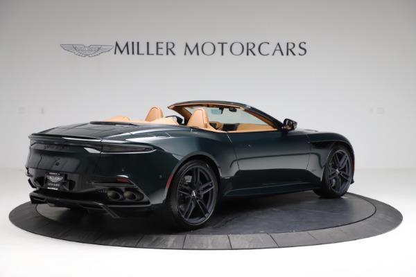 New 2021 Aston Martin DBS Superleggera Volante for sale $392,916 at Bentley Greenwich in Greenwich CT 06830 7