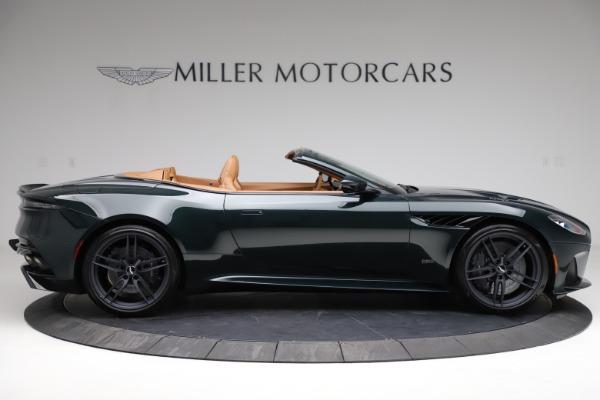 New 2021 Aston Martin DBS Superleggera Volante for sale $392,916 at Bentley Greenwich in Greenwich CT 06830 8