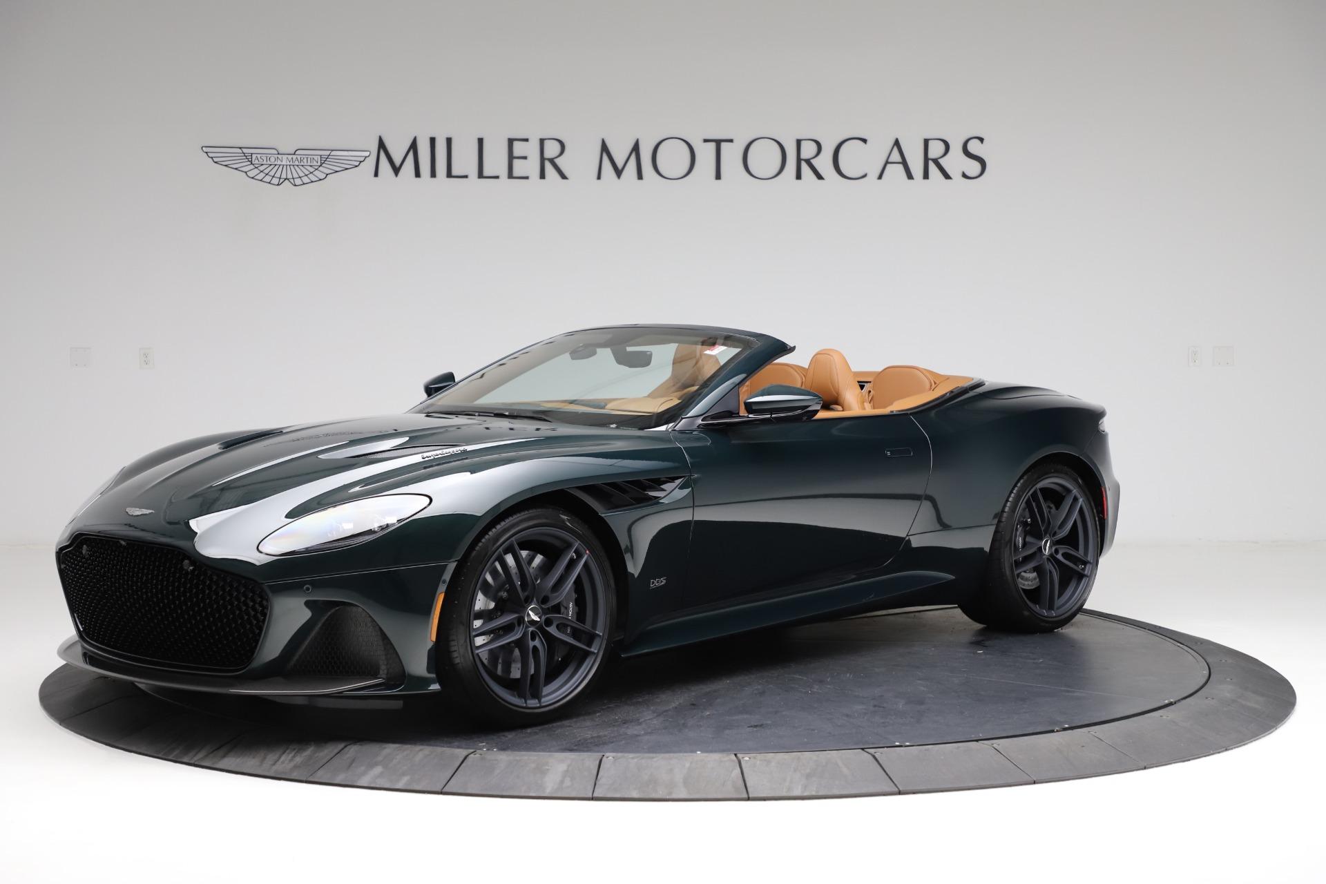 New 2021 Aston Martin DBS Superleggera Volante for sale $392,916 at Bentley Greenwich in Greenwich CT 06830 1