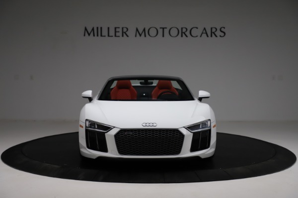 Used 2018 Audi R8 Spyder for sale $154,900 at Bentley Greenwich in Greenwich CT 06830 12