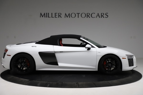 Used 2018 Audi R8 Spyder for sale $154,900 at Bentley Greenwich in Greenwich CT 06830 15