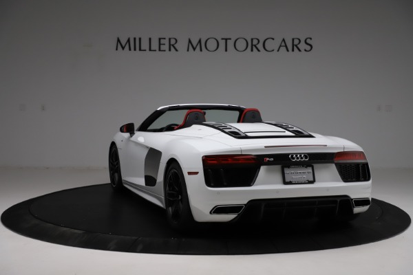 Used 2018 Audi R8 Spyder for sale $154,900 at Bentley Greenwich in Greenwich CT 06830 5