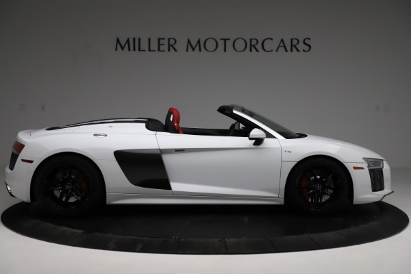 Used 2018 Audi R8 Spyder for sale $154,900 at Bentley Greenwich in Greenwich CT 06830 9