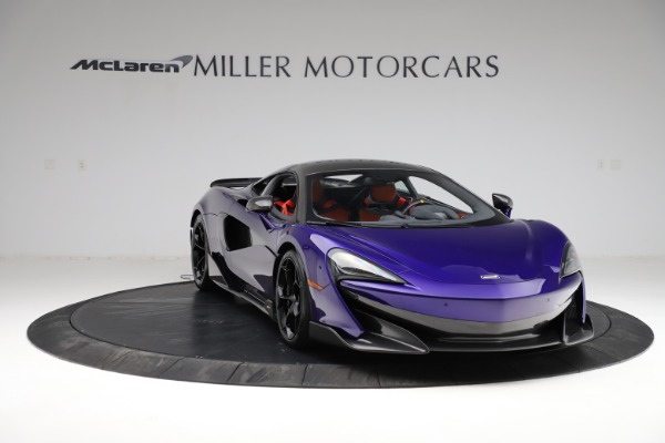 Used 2019 McLaren 600LT for sale $234,900 at Bentley Greenwich in Greenwich CT 06830 10