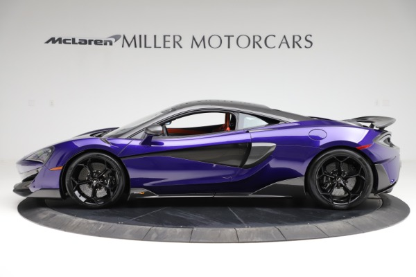 Used 2019 McLaren 600LT for sale $234,900 at Bentley Greenwich in Greenwich CT 06830 2