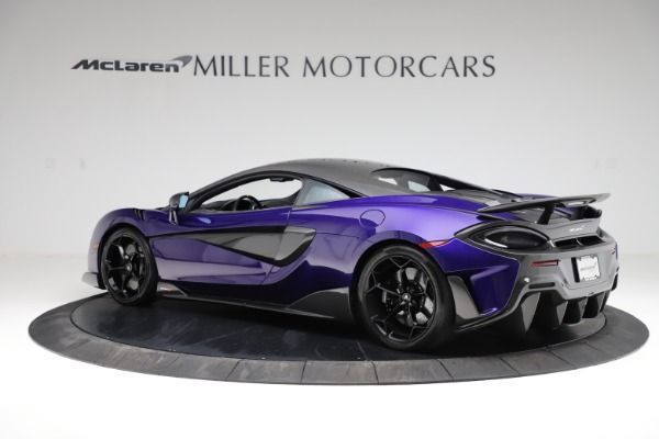 Used 2019 McLaren 600LT for sale $234,900 at Bentley Greenwich in Greenwich CT 06830 3
