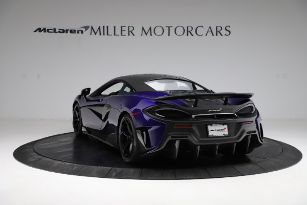 Used 2019 McLaren 600LT for sale $234,900 at Bentley Greenwich in Greenwich CT 06830 4