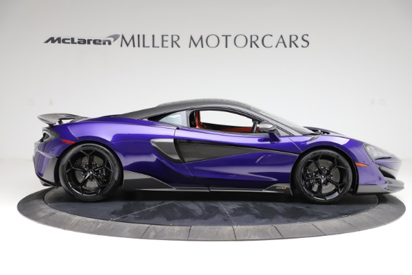 Used 2019 McLaren 600LT for sale $234,900 at Bentley Greenwich in Greenwich CT 06830 8