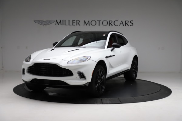 New 2021 Aston Martin DBX for sale $210,386 at Bentley Greenwich in Greenwich CT 06830 13