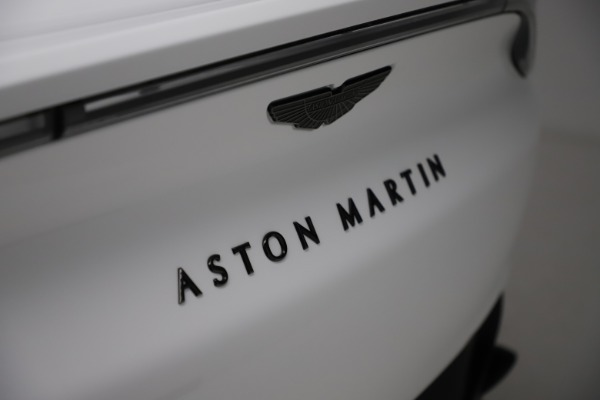 New 2021 Aston Martin DBX for sale $210,386 at Bentley Greenwich in Greenwich CT 06830 24