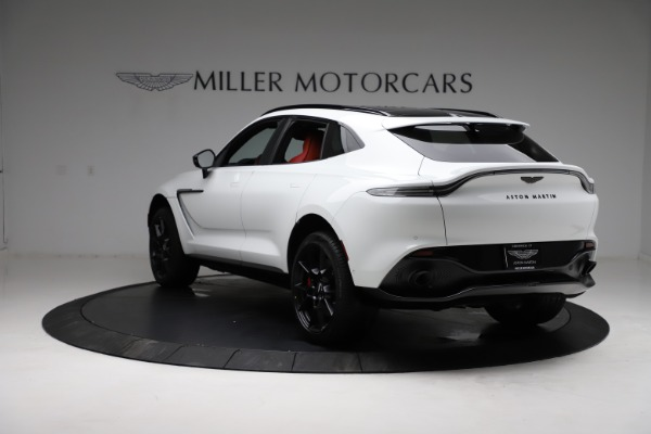 New 2021 Aston Martin DBX for sale $210,386 at Bentley Greenwich in Greenwich CT 06830 4