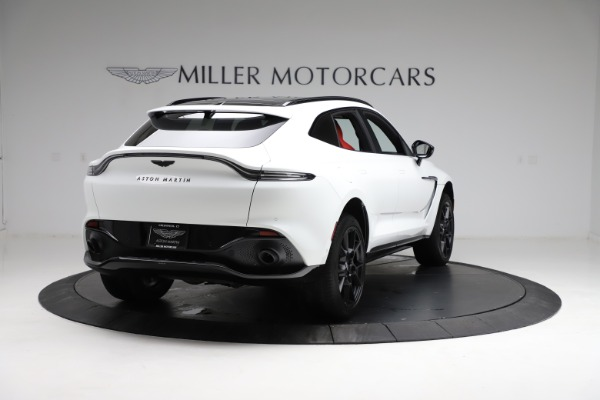 New 2021 Aston Martin DBX for sale $210,386 at Bentley Greenwich in Greenwich CT 06830 6