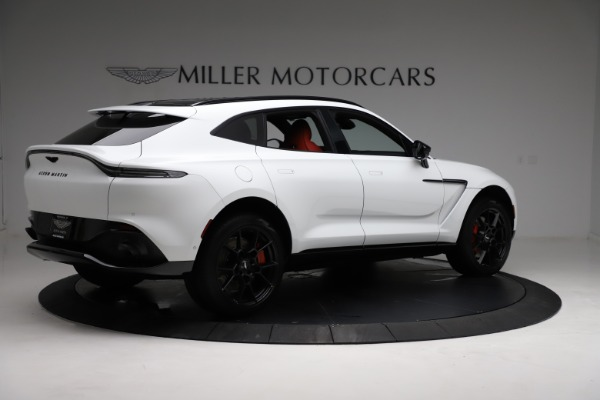 New 2021 Aston Martin DBX for sale $210,386 at Bentley Greenwich in Greenwich CT 06830 7