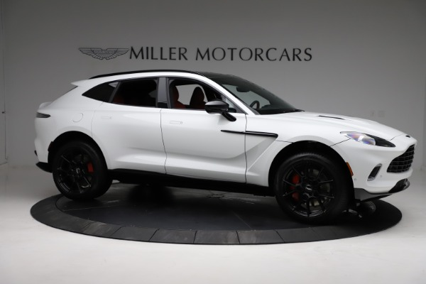 New 2021 Aston Martin DBX for sale $210,386 at Bentley Greenwich in Greenwich CT 06830 9