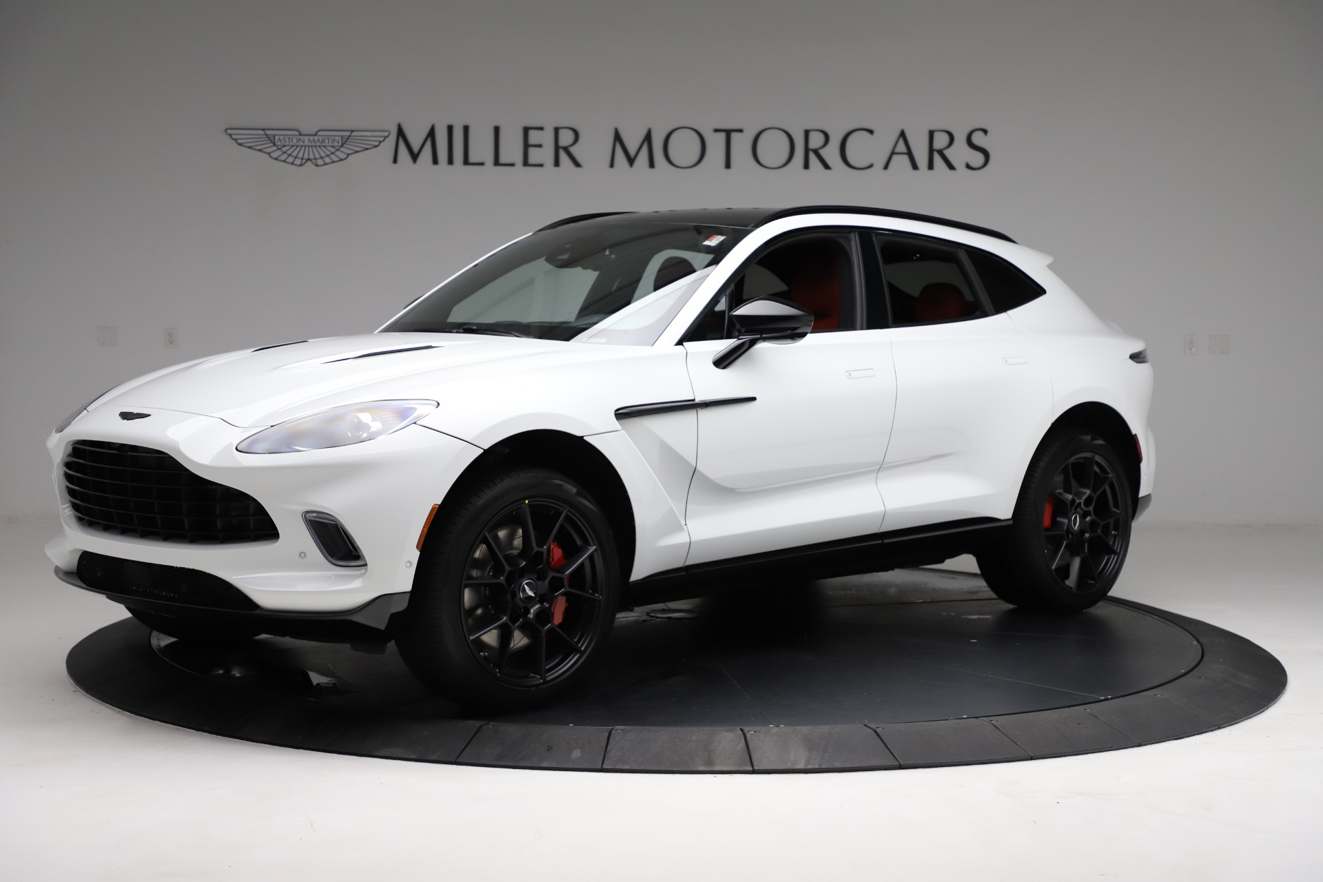 New 2021 Aston Martin DBX for sale $210,386 at Bentley Greenwich in Greenwich CT 06830 1