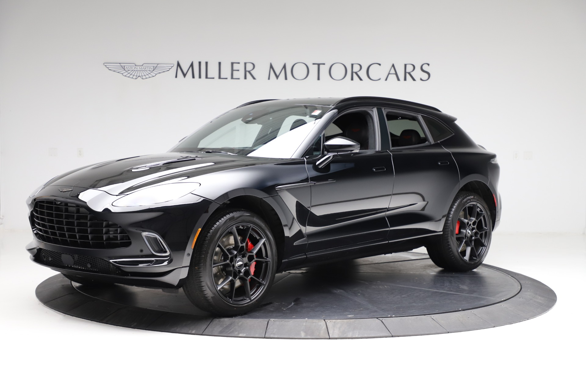New 2021 Aston Martin DBX for sale $206,286 at Bentley Greenwich in Greenwich CT 06830 1