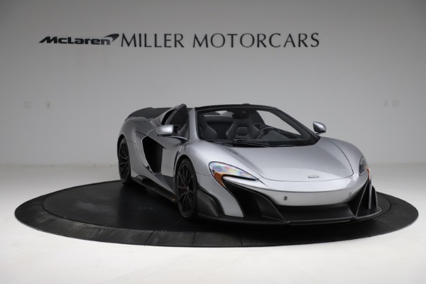 Used 2016 McLaren 675LT Spider for sale $275,900 at Bentley Greenwich in Greenwich CT 06830 10