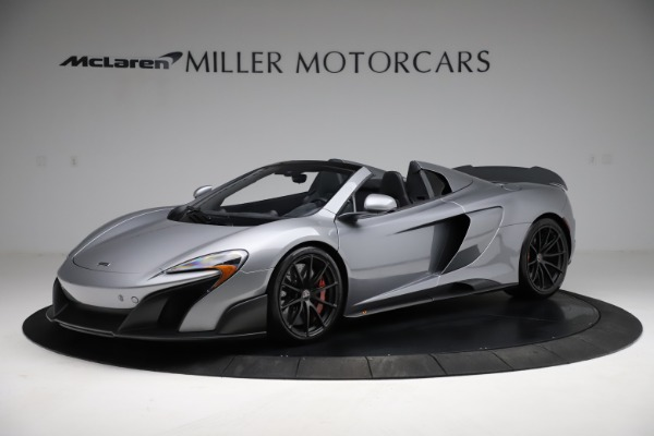 Used 2016 McLaren 675LT Spider for sale $275,900 at Bentley Greenwich in Greenwich CT 06830 1