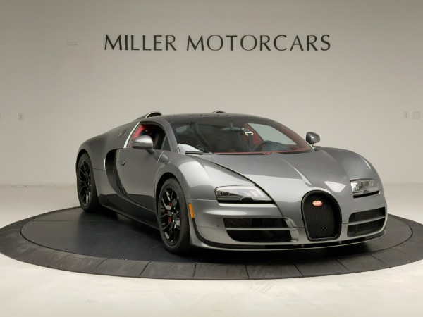 Used 2013 Bugatti Veyron 16.4 Grand Sport Vitesse for sale Call for price at Bentley Greenwich in Greenwich CT 06830 19
