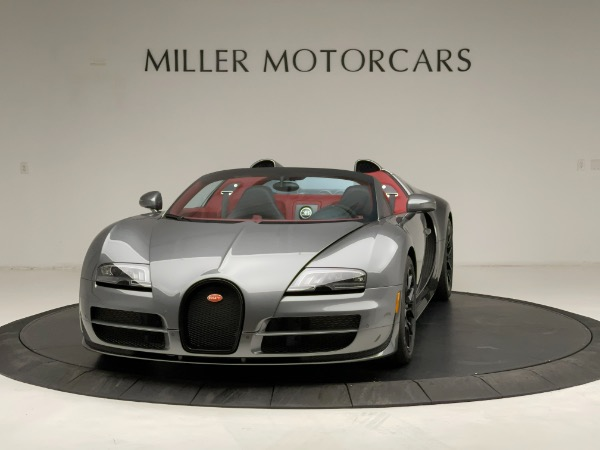Used 2013 Bugatti Veyron 16.4 Grand Sport Vitesse for sale Call for price at Bentley Greenwich in Greenwich CT 06830 2