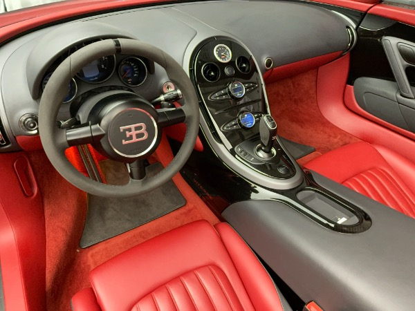 Used 2013 Bugatti Veyron 16.4 Grand Sport Vitesse for sale Call for price at Bentley Greenwich in Greenwich CT 06830 20