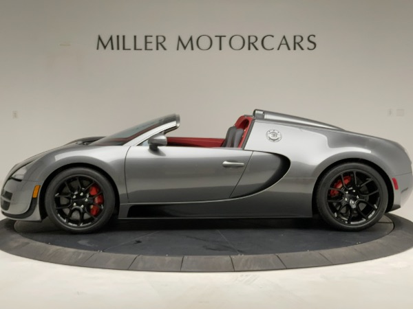 Used 2013 Bugatti Veyron 16.4 Grand Sport Vitesse for sale Call for price at Bentley Greenwich in Greenwich CT 06830 3