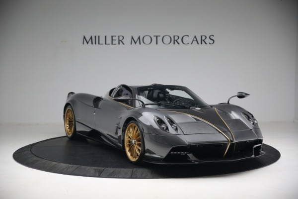 Used 2017 Pagani Huayra Roadster for sale Call for price at Bentley Greenwich in Greenwich CT 06830 11
