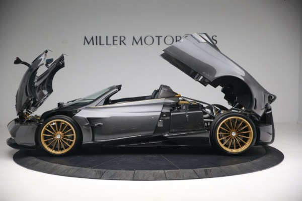 Used 2017 Pagani Huayra Roadster for sale Call for price at Bentley Greenwich in Greenwich CT 06830 18