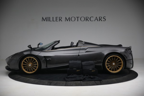 Used 2017 Pagani Huayra Roadster for sale Call for price at Bentley Greenwich in Greenwich CT 06830 19