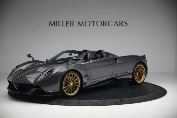 Used 2017 Pagani Huayra Roadster for sale Call for price at Bentley Greenwich in Greenwich CT 06830 2