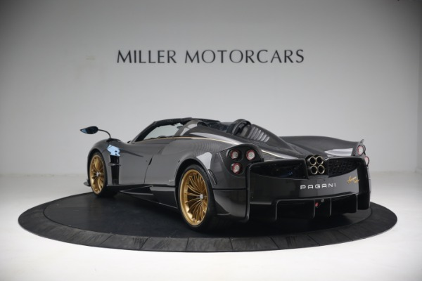 Used 2017 Pagani Huayra Roadster for sale Call for price at Bentley Greenwich in Greenwich CT 06830 5