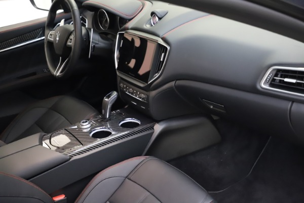 New 2021 Maserati Ghibli S Q4 GranSport for sale $100,285 at Bentley Greenwich in Greenwich CT 06830 22