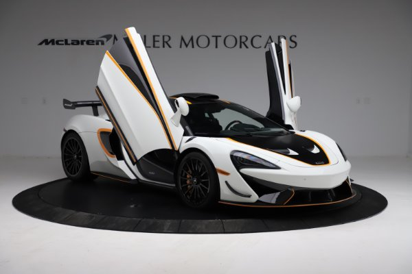 New 2020 McLaren 620R for sale Call for price at Bentley Greenwich in Greenwich CT 06830 15