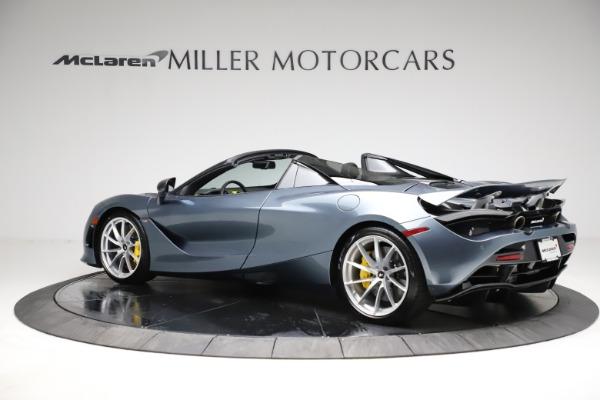 New 2021 McLaren 720S Spider for sale $351,450 at Bentley Greenwich in Greenwich CT 06830 3
