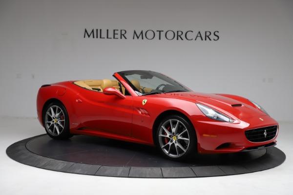 Used 2010 Ferrari California for sale $114,900 at Bentley Greenwich in Greenwich CT 06830 10