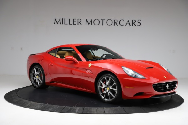 Used 2010 Ferrari California for sale $114,900 at Bentley Greenwich in Greenwich CT 06830 18
