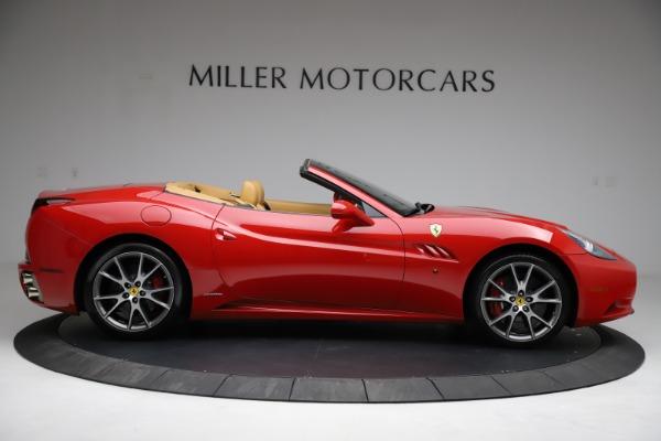 Used 2010 Ferrari California for sale $114,900 at Bentley Greenwich in Greenwich CT 06830 9