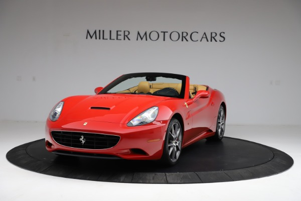 Used 2010 Ferrari California for sale $114,900 at Bentley Greenwich in Greenwich CT 06830 1
