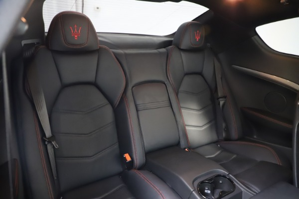 Used 2018 Maserati GranTurismo Sport for sale $99,900 at Bentley Greenwich in Greenwich CT 06830 22